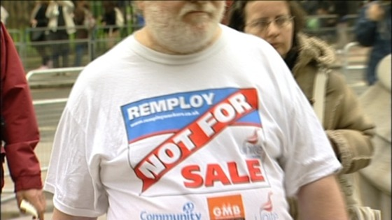 Remploy campaigner