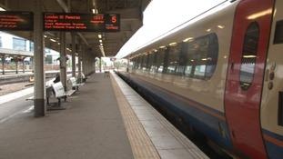 Sheffield train station