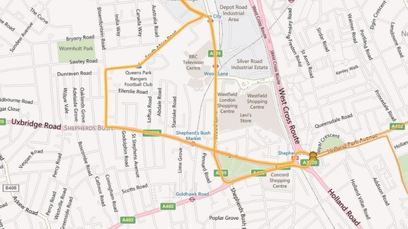 Hammersmith &amp; Fulham Torch Relay Route Part 1: Day 69.
