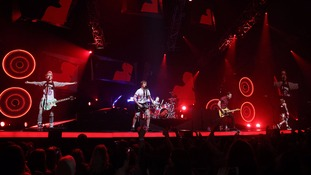 McBusted performing at the O2