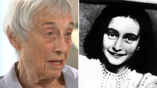 'We just fell into each others' arms': Bergen-Belsen survivor describes reuniting with Anne Frank at Nazi camp