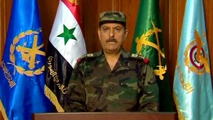 General Fahad Jassim al-Freij is Syria's new defence minister