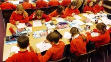 It is a big day for thousands of children as they discover which primary school they'll be going to in September