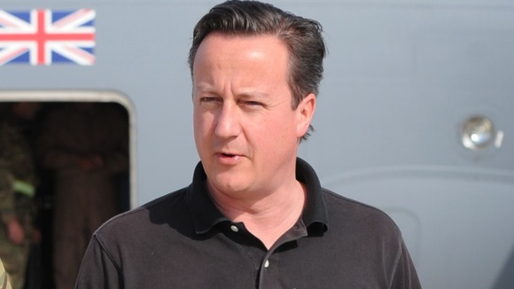 David Cameron has visited Afghanistan today
