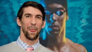 Phelps reveals ambition to compete in Rio 2016