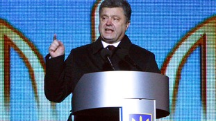 File photo of Ukraine's President Petro Poroshenko