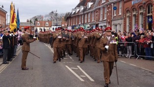 Norfolk says goodbye to the Light Dragoons