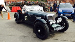 Fleet of vintage cars gear up for 750 mile journey passing Newcastle, North York Moors and Co Durham