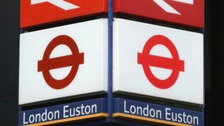 The 'terrifying' incident began at Euston station