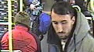Officers have released CCTV images of the man they want to trace about the sexual assault on a tram in Wilmbledon