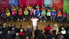 Jim Murphy launches Scottish Labour's manifesto