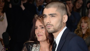 Zayn Malik and mother Trisha