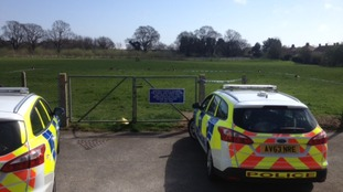 The teenage boy was stabbed in a playing field.