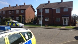 A man and a teenager were stabbed in Leiston last night.