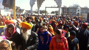 Thousands flock to Sikh festival in Gravesend