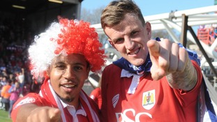Korey Smith and Aden Flint
