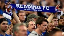 Reading goalkeeper Adam Federici lies dejected