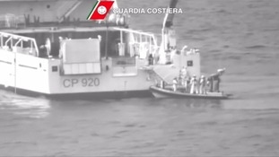 Hundreds feared dead as boat carrying migrants capsizes in Med