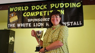 Crowds turn out for World Dock Pudding Championships