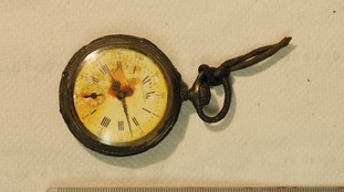 A watch which was also found.