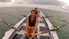 Coxless Crew: Natalia Cohen (front) and Isabel Burnham