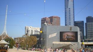 Melbourne's Federation Square.
