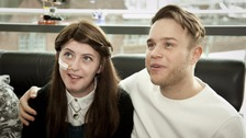 Olly Murs made a secret trip to Newcastle