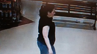 A CCTV image of the suspect