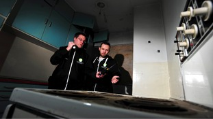 Derby Paranormal investigators got an unexpected fright of their own