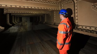 'Ghost' railway station discovered beneath the capital