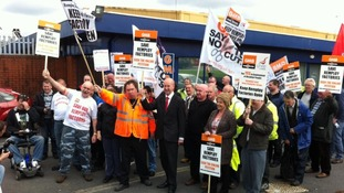 Strong emotions underpin Remploy strike action