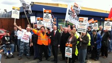 Remploy protesters.