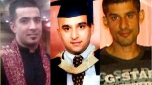 Eight men have been found not guilty of the murders of three friends during rioting in Birmingham last summer.