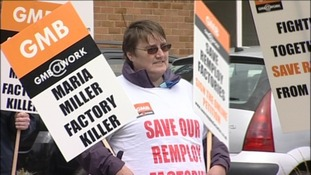 Thousands support Remploy strike