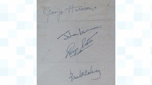 Beatles signatures