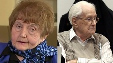 Auschwitz survivor Eva Mozes Kor met ex-guard Oskar Groning after he admitted being omplicit in the murder of millions of Jews