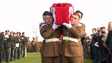 Unknown soldiers reburied with honours