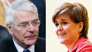 Sturgeon: Major comments 'an affront to democracy'