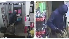 The man police want to speak to in connection with the robbery