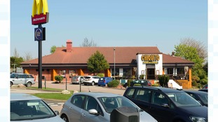 The car was stolen from the Chiquito restaurant car park