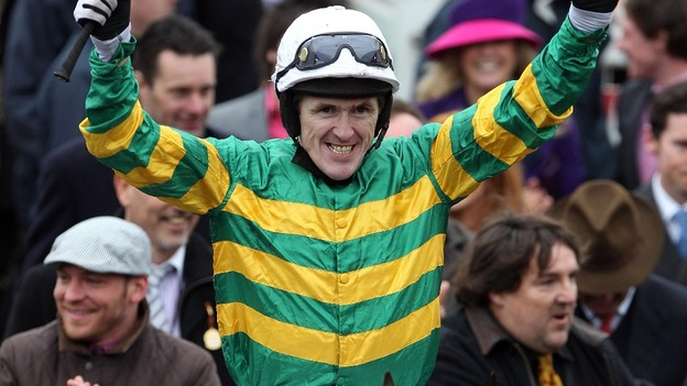 Tony McCoy wins Cheltenham Gold Cup