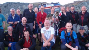 Bill Bailey had been walking on the fells.