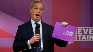 Ukip are not the main challenger to the Tories in 10 seats, a ComRes/ITV News poll has found