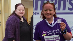 Woman drops 10 stone to run London Marathon