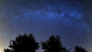 Stargazers could see a shower of shooting stars tonight
