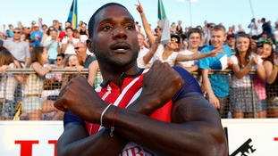 US sprinter Justin Gatlin was banned from athletics for four years