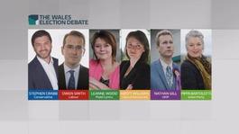 Politicians clash in the Wales Election Debate
