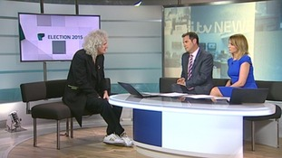 Brian May talks to Ian and Kylie about his mission.
