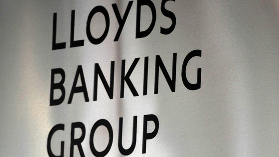 Sign for Lloyds Banking Group.
