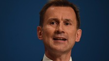 Health Secretary Jeremy Hunt appears on ITV's The Agenda tonight.